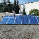 "PUC ""Toplana-Šabac"" set up a mini solar power plant"